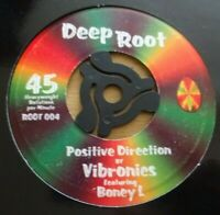"🇧🇴 VIBRONICS - Positive Direction - 7"" Vinyl - Deep Root 🇧🇴 ROOTS REGGAE DUB"