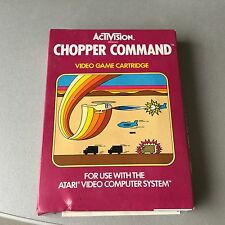 VINTAGE# ULTRA RARE CHOPPER COMMAND WHITE LABEL #ATARI 2600#MOD AX-015 NIB PAL