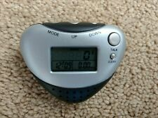 Talking Pedometer with Distance, Steps, Voice, Music, Time Alarm