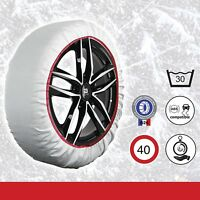 "Sumex Husky Textile Winter Car Wheel Ice, Frost & Snow Chain Socks for 15"" Tyres"