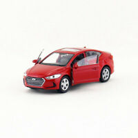 1:36 Hyundai Elantra Model Car Diecast Vehicle Toy Kids Collection Gift Red