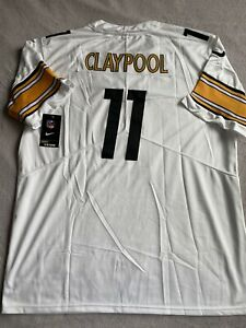 Chase Claypool Pittsburgh Steelers White Jersey New W/Tags Size XL