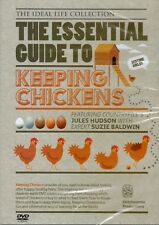 THE ESSENTIAL GUIDE TO KEEPING CHICKENS NEW DVD JULES HUDSON & SUZIE BALDWIN