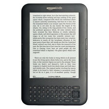 Amazon Kindle Keyboard - 4 GB - Wi-Fi, 6in - Graphite Very Good Condition