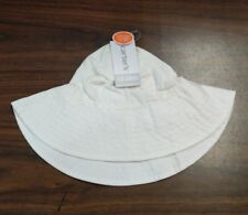 Carter's Baby Infant CHAMBRAY Bucket SUN Hat 12-24 mo, UPF 50+ WIDE BRIM