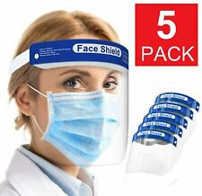 Safety Full Face Shield Reusable FaceShield Clear Washable Face Anti-Splash