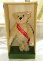 NRFB Steiff Vedes Growler Blonde Exclusive Teddy Bear 1994  NIB EAN 650901 15""