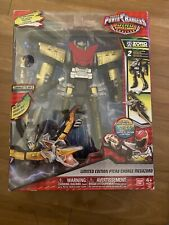 BANDAI SABAN POWER RANGERS DINO SUPER CHARGE PTERA MEGAZORD ZORD FIGURE GOLD