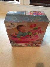 Deluxe giggles island positioner booster and activity seat 3 stage Super Seat