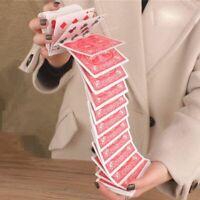 leicht lustig interessant magier werkzeuge e - card magie. wasserfall - poker