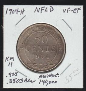 Newfoundland, 1904-H 50 Cents