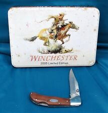 Winchester 2005 Commemorative Limited Edition Knife/Tin