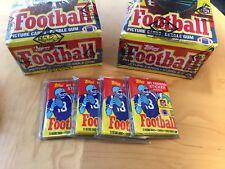1985 Topps Fooball Wax Pack PSA 10 Walter Payton $4,650