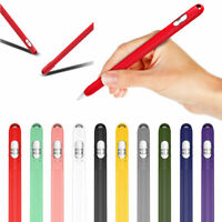 For Apple Pencil 1st Generation Rugged Protective Silicone Case Holder with Cap