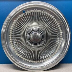 """ONE 1977-1979 Buick Century / Regal / Electra # 1066 15"""" 72 Rib Wheel Cover USED"""