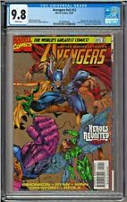 Avengers #v2 #12 #414 CGC 9.8 White Pages Silver Surfer Terrax Galactus ONLY 1