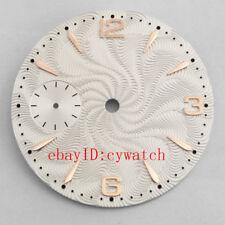 Goutent 36.8mm white dial fit eta 6497,Seagull st36 mechanical Casual men  watch