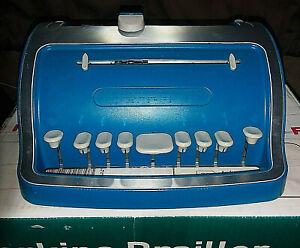 """Perkins Brailler:The Next Generation Perkins Brailler """"SKY BLUE"""" / APH BRAILLER"""