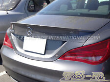 BENZ 2013-2015 C117 CLA180 CLA250 AMG Type Rear Trunk Spoiler Customer Painting