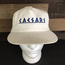 Vintage Caesars Palace White Snapback Hat c2fa060c0adf