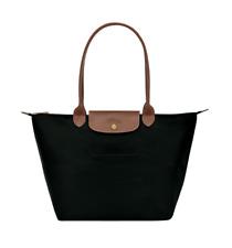 Authentic Longchamp Black LE PLIAGE TOTE BAG Large Nylon Shoulder Bag BNWT
