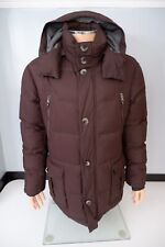 Hugo Boss T Daveras Mens Duck Down Padded Coat, Size 50, Large, Browm, VGC