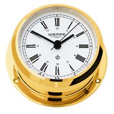 Wempe Chronomètre Pirat II laiton Ø 96mm Horloge murale im Maritime Design