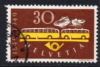 Switzerland 30 Cent Stamp c1949 Used (1200)