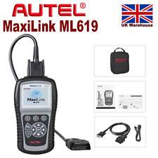 Autel ML619 AL619 Car Fault DTC ABS SRS Code Reader OBD2 Diagnostic Scanner UK