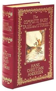 THE COMPLETE HANS CHRISTIAN ANDERSEN ~ RED LEATHER GIFT EDITION ~ LIGHTLY HURT