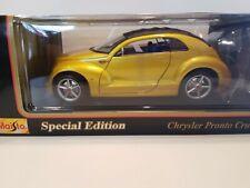 Maisto Chrysler Pronto Cruizer - Original Concept Version 1:18 Scale - Yellow