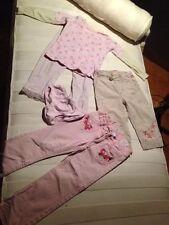 Kombi Mädchen Schlafanzug Größe 104-110 Lillifee 2 Hosen #105