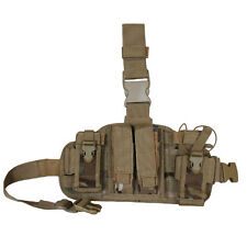 Fox MOLLE Special Ops Combat Drop Leg Panel Rig System- MultiCam Camo