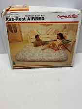 Vintage Intex Aire-rest Airbed Coil-beam Queen Size