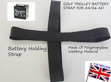 Golf trolley Battery Strap for 24/26 Ah 30-36 Ah 17-21Ah Golf Trolley Batteries