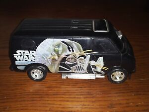 star wars vintage original 1977 Ripcord Van, black Darth Vader