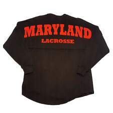 University Of Maryland Lacrosse Spirit Jersey Long-Sleeve T-Shirt Size XS