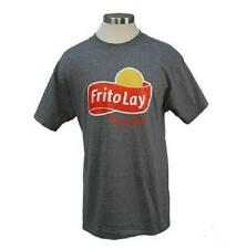 Frito Lay Grey T-Shirt Heavyweight 100% Cotton (2XL)  Pre-shrunk *NEW