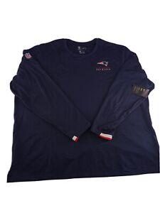 New England Patriots Nike Sideline Performance Pullover Sweatshirt Mens Size 4XL
