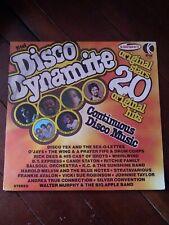 K-TEL DISCO DYNAMITE 20 ORIGINAL STARS & HITS on Vinyl