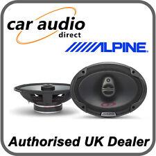 "ALPINE SPG-69c3 6x9"" 350W 3 Way Car Radio Stereo Audio Speakers Door Shelf New"