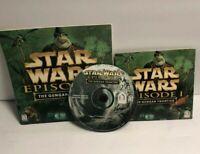 Star Wars Episode 1 The Gungan Frontier PC Game Windows 95/98 USED!
