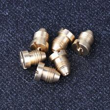 Foam Cannon Orifice Nozzle Tips Replacement Brass Thread Nozzle 1.1/1.25mm Lance