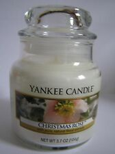 Yankee Candle Christmas Rose 3.7 Jar New Rare Hard To Find Fast Shipping