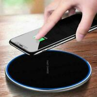 15W Qi Wireless Charger Charging Dock Pad Mat For Samsung iPhone S10 XS X W3C1