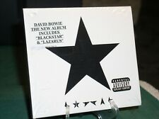 DAVID BOWIE~~ THE NEW ALBUM (BLACKSTAR) (BRAND NEW SEALED) LAST ONE!!!