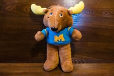 Get Along Gang Montgomery Moose with Shirt Vintage 1985 Tomy Plush Great Shape