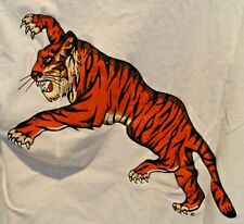 FIGHTING TIGER T-SHIRT, LIMITED EDITION, DOUBLE SIDED, HIGH-QUALITY