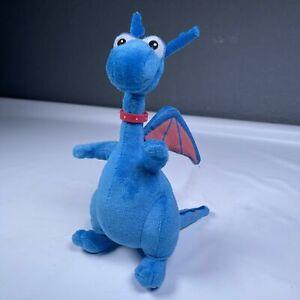 "Disney Junior Doc Mcstuffins Stuffy Blue Dragon Plush Stuffed Animal Toy 9"""