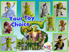 McDonald's 2007 Shrek the Third Green Ogre Movie Baby Dronkey Your Toy Choice